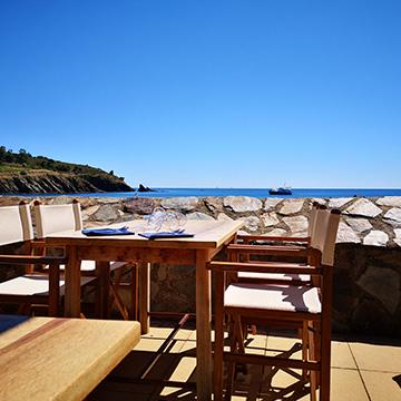 Le sole mio, c'est aussi une belle vue sur la baie de paulilles.