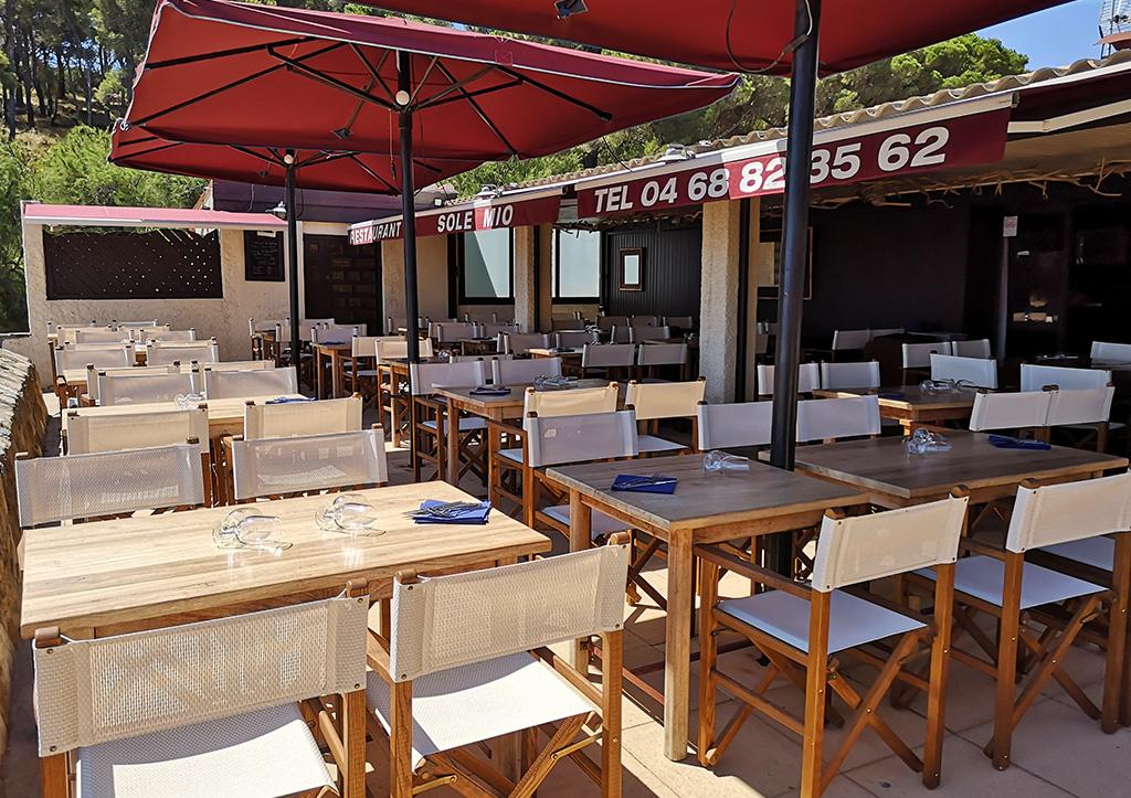 Venez profiter d'une vue magnifique dans notre restaurant Paulilles !